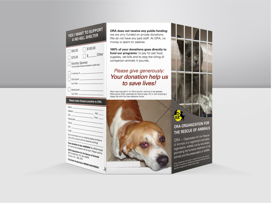 The Organization for the Rescue of Animals Brochure